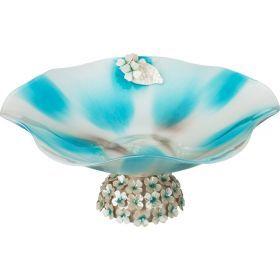 Декоративная чаша диаметр=35 см. высота=15 см.-316-1053