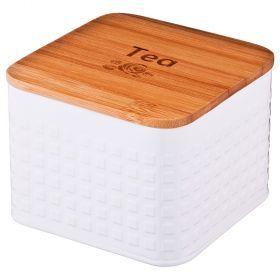 Банка для чайных пакетиков 11*11*7 см-790-152
