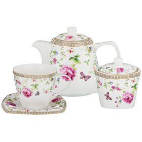 Чайный сервиз на 6 персон 14пр. 700/220/280мл (кор=4наб.)-165-452