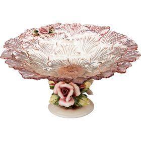 Декоративная чаша  диаметр=40 см. высота=20 см.-316-1035