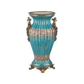 Декоративная ваза 25*18 см. высота=47 см.-469-268