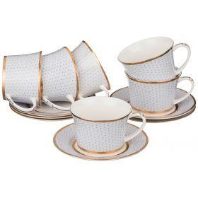 Кофейный набор на 6 персон 12 пр. 150 мл.-760-441