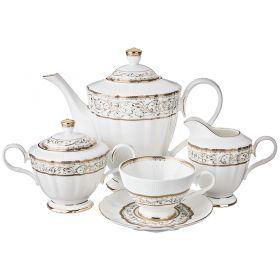 Чайный сервиз на 6 персон 15 пр. 1100/210 мл.-586-339