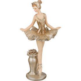 Статуэтка балерина 6*6*15 см.