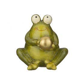 Фигурка лягушка 12*11*12 см