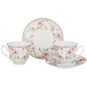 Чайный набор на 2 персоны 4пр. 220мл (кор=24наб.)-165-454