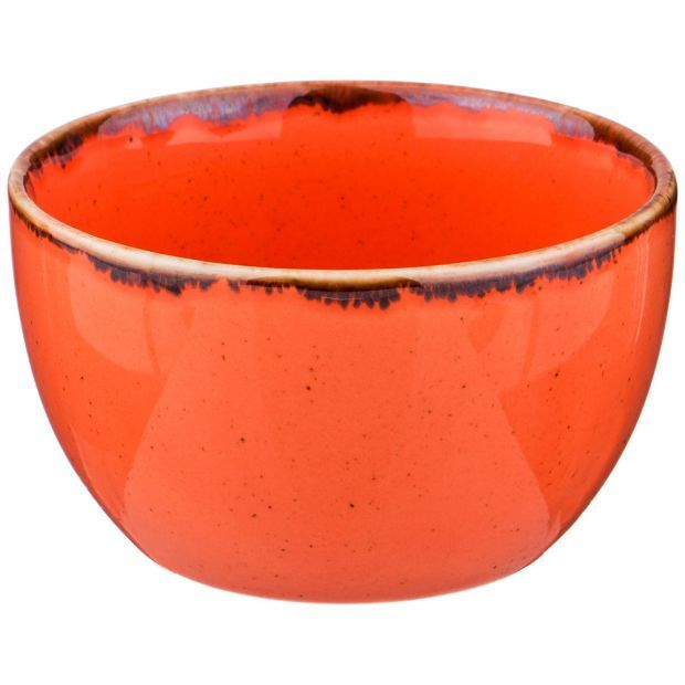 Сахарница seasons цвет оранжевый диаметр=9,5 см (кор=6шт.)-664-155