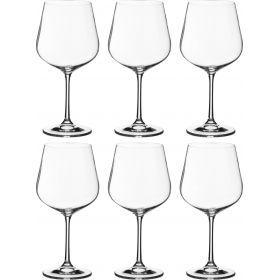 Набор бокалов для вина из 6 шт. дора 600 мл. высота=22 см.