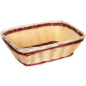 Корзинка agness 25*17.5*8 cm. без упаковки (мал=10шт./кор=120шт.)-890-045