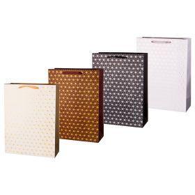 Комплект бумажных пакетов из 12 шт  40*30*12 см.-512-564
