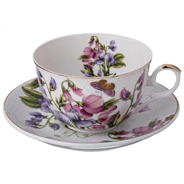 """Чайный набор на 1 персону 2 пр.""""весна"""" 250 мл.-69-1639"""