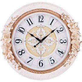 Часы настенные кварцевые 52*9,5*52 см. диаметр циферблата=38 см.-204-194
