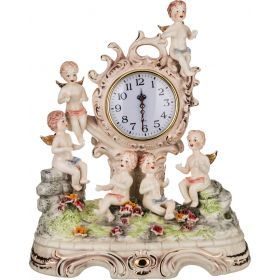 Часы настольные ангелочки48*28*60 см.