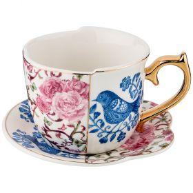 Чайный набор на 1 персону, 2 предмета 300мл. (кор=36набор.)-151-121