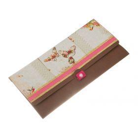 Конверт подарочный бабочка 19*8 см.