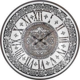 Часы настенные кварцевые 80*80*9 см. диаметр циферблата=77 см.-108-104