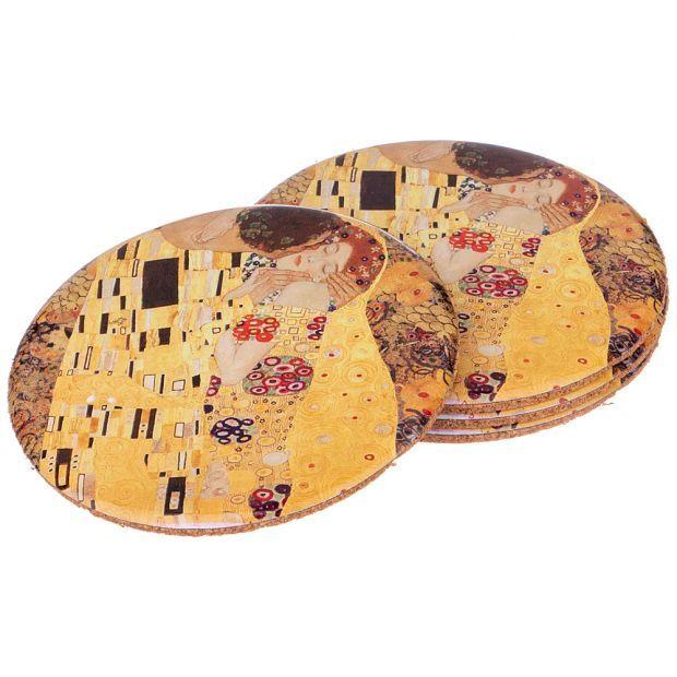 Набор подставок, 4шт, диаметр 9,5 см-898-117