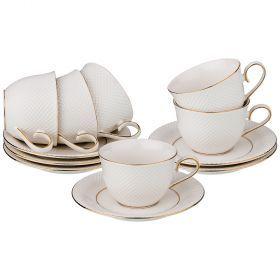 Чайный набор на 6 персон 12 пр.300 мл.-84-817