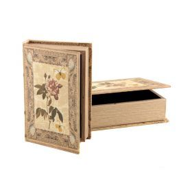 Комплект шкатулок-книг из 2 шт.30*22*7/24*16*5 см.-184-148