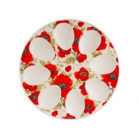 Тарелка для яиц. диаметр=20 см.-388-089