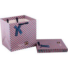 Комплект бумажных пакетов из 10 шт.30*30*25 см.-521-093