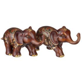 Набор фигурок слонов
