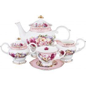 Чайный сервиз на 6 персон 15 пр. 1300/200 мл.-586-342