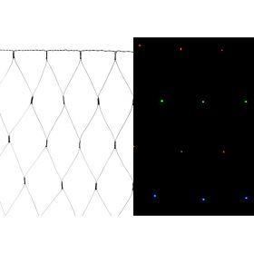 Электрогирлянда со светодиодами-сеть  90х140 см  220в  88 led   цвет мульти, контроллер-857-021