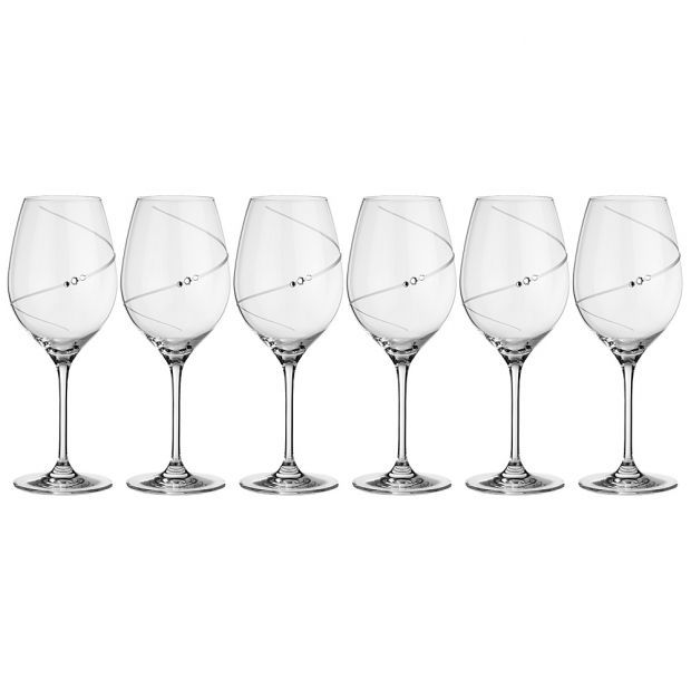 "Набор бокалов для красного вина  из 6  штук ""силуэт"" 570 мл-681-107"