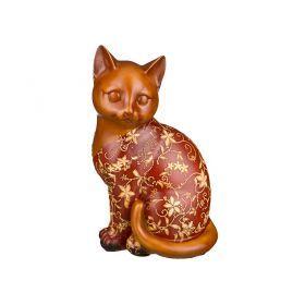 Фигурка кошка красная развитие творческих способностей высота=15*25*27 см