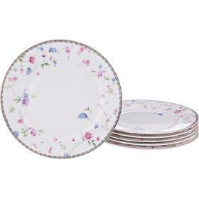 Набор десернтых тарелок из 6 шт. диаметр=20 см.-274-853