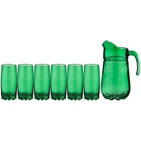 Набор для сока кувшин + 6 стаканов
