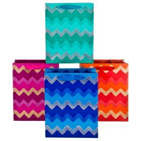 Комплект бумажных пакетов из 12 шт  23*18*10 см.-512-572