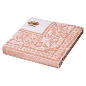 Салфетки бумажные 3-х слойные 20 шт. 33*33 см