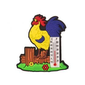 Магнит-термометр петушок 6,5*0,5*6 см.