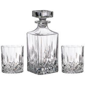 Набор для виски декантер 750мл и 2 стакана 340 мл-681-122