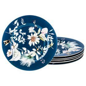 Набор десертных тарелок 6 шт., 20 см.