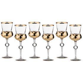 Набор бокалов для вина из 6 шт.300 мл.высота=14 см.-103-503