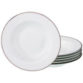 Набор тарелок суповых из 6 шт. диаметр=23 см. (кор=6набор.)-770-157