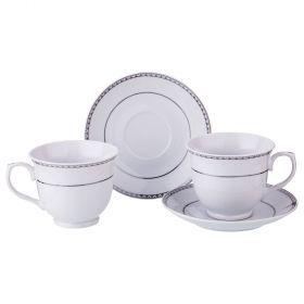 Чайный набор на 2 персоны 4 пр 200 мл 14*14*7 см (кор=24набор.)-389-473