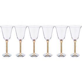 Набор бокалов для вина из 6 шт. 250 мл. высота=21,5 см.-661-052