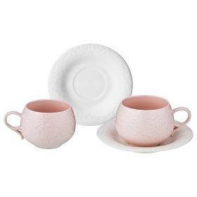 Чайный набор на 2 персоны, 4 пр., 200 мл (кор=24набор.)-374-058