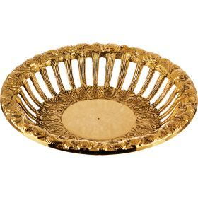 Блюдо декоративное диаметр=19 см-877-326