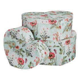 Набор подарочных коробок из 3 шт.39,5*31,5*14,8/33,4*26*12,8/27*20,6*10,8 см.-37-245