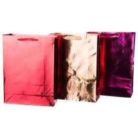Комплект бумажных пакетов из 12 шт 40*30*12 см.3 вида-512-537