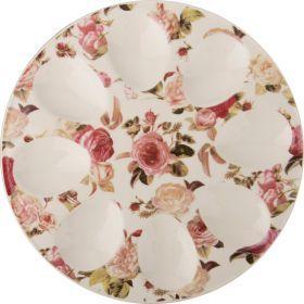 Тарелка для яиц. диаметр=20 см.-388-129