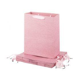 Комплект бумажных пакетов из 12 шт  32*26*12 см.-512-539