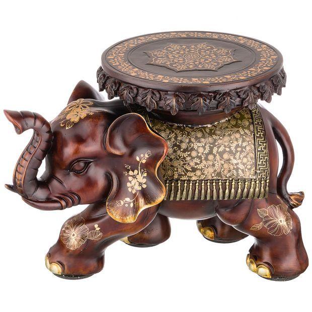 """Фигурка слон """"стимул в работе"""" 43*29 см. высота=32 см. (кор=2 шт.)-114-404"""
