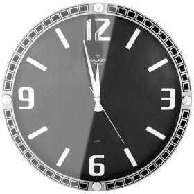 Часы настенные кварцевые диаметр 39,5 см диаметр циферблата 34,9 см-207-402