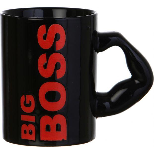 """Кружка """"big boss"""" 500 мл.высота=12 см.-563-004"""